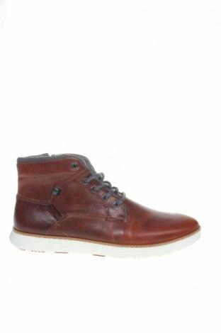 Мъжки обувки Pier One, Размер 43, Цвят Кафяв, Естествена кожа, текстил, Цена 139,00лв.