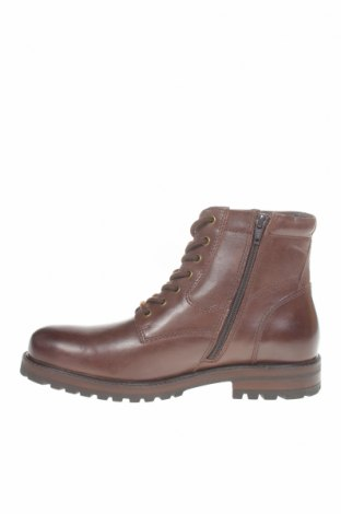Мъжки обувки Pier One, Размер 41, Цвят Кафяв, Естествена кожа, Цена 149,00лв.