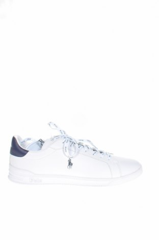 Ανδρικά παπούτσια Polo By Ralph Lauren, Μέγεθος 49, Χρώμα Λευκό, Γνήσιο δέρμα, Τιμή 73,07€