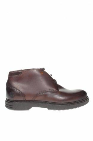 Ανδρικά παπούτσια Timberland, Μέγεθος 46, Χρώμα Καφέ, Γνήσιο δέρμα, Τιμή 111,73€