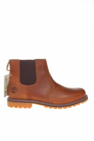 Мъжки обувки Timberland, Размер 43, Цвят Кафяв, Естествена кожа, текстил, Цена 269,00лв.
