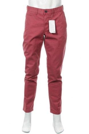Мъжки панталон Angelo Litrico, Размер M, Цвят Червен, Памук, Цена 22,68лв.