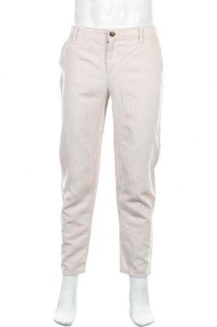 Мъжки панталон Armani Exchange, Размер M, Цвят Бежов, 73% лиосел, 27% лен, Цена 41,76лв.