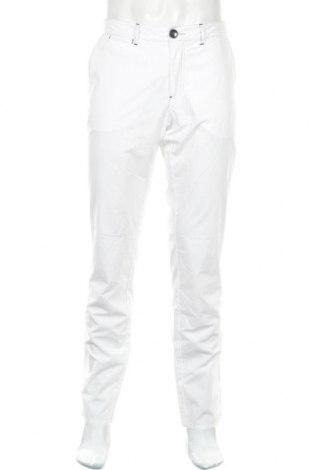 Мъжки панталон Armani Jeans, Размер XL, Цвят Бял, Памук, Цена 49,00лв.