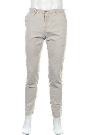 Мъжки панталон Bugatti, Размер M, Цвят Сив, 96% памук, 4% еластан, Цена 40,50лв.