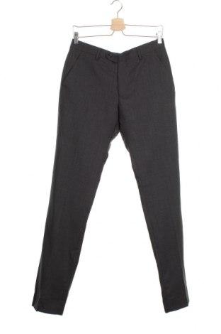 Мъжки панталон Cortefiel, Размер S, Цвят Сив, Вълна, Цена 31,05лв.