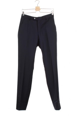 Мъжки панталон Cortefiel, Размер S, Цвят Син, 70% вълна, 30% полиестер, Цена 33,81лв.