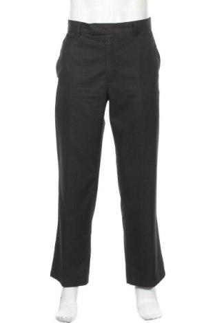 Мъжки панталон Kenneth Cole, Размер XL, Цвят Черен, 76% полиестер, 24% вискоза, Цена 19,64лв.