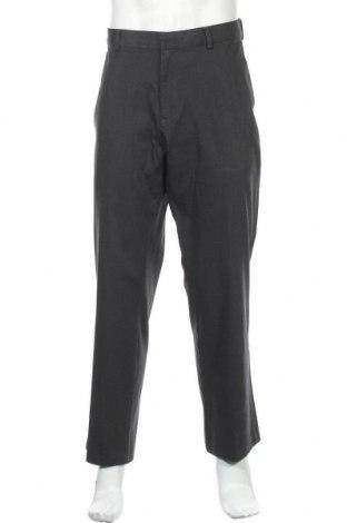 Мъжки панталон Kenneth Cole, Размер XL, Цвят Сив, Памук, Цена 21,42лв.