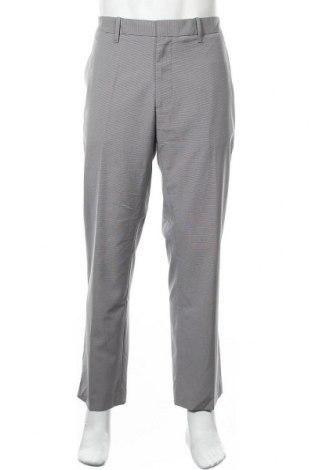 Мъжки панталон Kenneth Cole, Размер XL, Цвят Сив, 78% полиестер, 22% вискоза, Цена 22,31лв.
