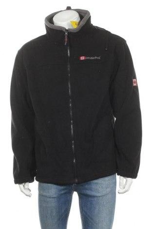 Ανδρικό φούτερ fleece Canadian Peak, Μέγεθος L, Χρώμα Μαύρο, Πολυεστέρας, Τιμή 25,23€