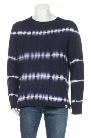 Ανδρικό πουλόβερ McNeal, Μέγεθος XL, Χρώμα Μπλέ, 55% λινό, 45% βαμβάκι, Τιμή 22,40€
