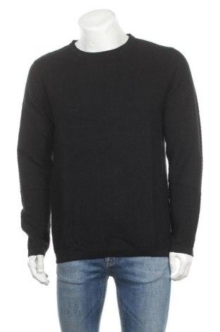 Мъжки пуловер Premium By Jack & Jones, Размер L, Цвят Черен, Памук, Цена 18,63лв.
