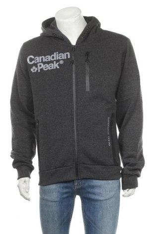Ανδρικό φούτερ Canadian Peak, Μέγεθος XL, Χρώμα Γκρί, 65% βαμβάκι, 35% πολυεστέρας, Τιμή 25,23€