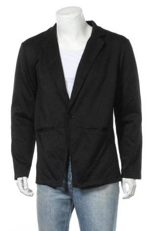 Мъжко сако Allegra K, Размер L, Цвят Черен, Полиестер, Цена 9,71лв.