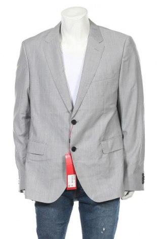 Sacou de bărbați Hugo Boss, Mărime XL, Culoare Gri, Lână, Preț 501,81 Lei
