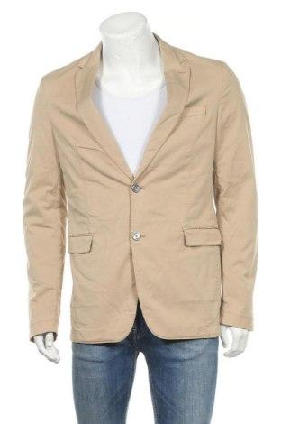 Pánské sako  Hugo Boss, Velikost XL, Barva Béžová, 97% bavlna, 3% elastan, Cena  3586,00Kč