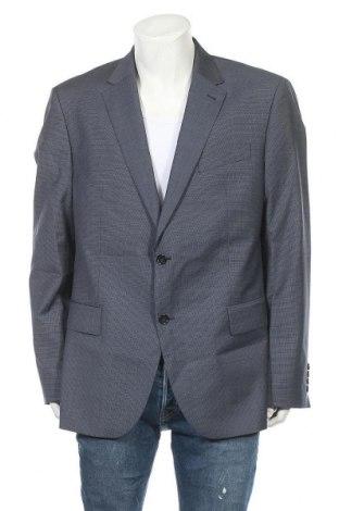 Sacou de bărbați Pierre Cardin, Mărime XL, Culoare Albastru, Lână, Preț 165,10 Lei