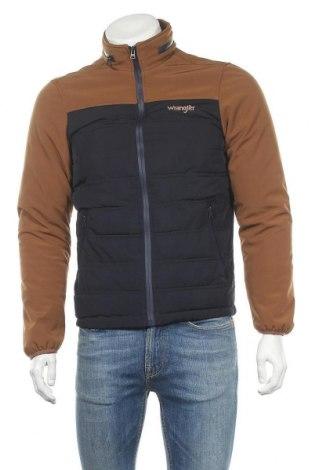 Мъжко яке Wrangler, Размер M, Цвят Кафяв, 97% полиестер, 3% еластан, Цена 44,80лв.