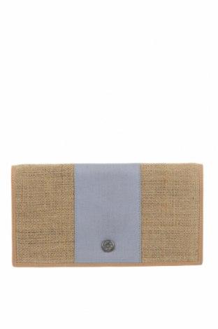 Несесер Flip Flop, Цвят Бежов, Текстил, Цена 11,66лв.