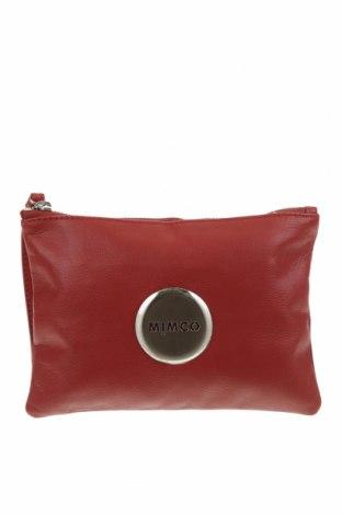 Несесер Mimco, Цвят Червен, Естествена кожа, Цена 23,10лв.
