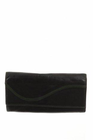 Портмоне, Цвят Черен, Естествена кожа, Цена 25,73лв.