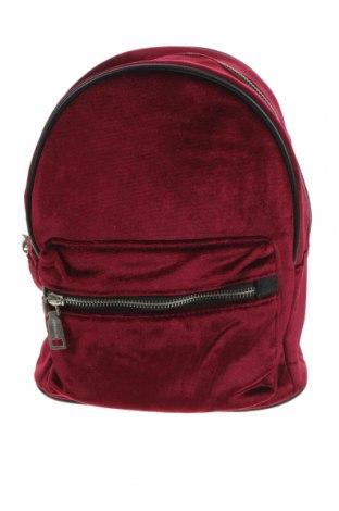 Раница Pull&Bear, Цвят Червен, Текстил, Цена 25,94лв.