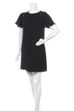 Рокля Armani Exchange, Размер M, Цвят Черен, Полиестер, Цена 71,70лв.
