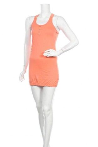 Рокля Outfitters Nation, Размер S, Цвят Оранжев, 50% памук, 50% вискоза, Цена 8,82лв.