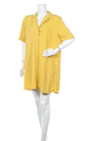 Рокля Ses, Размер L, Цвят Жълт, Полиестер, Цена 24,99лв.