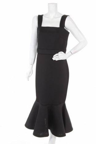Рокля True Violet, Размер XL, Цвят Черен, 95% полиестер, 5% лен, Цена 89,25лв.