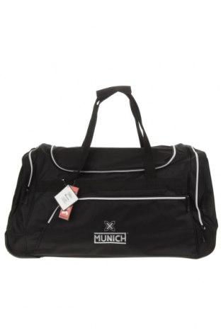 Сак Munich, Цвят Черен, Текстил, Цена 59,25лв.