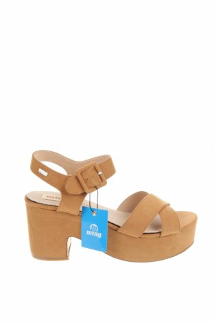 Sandale Mtng, Mărime 40, Culoare Maro, Textil, Preț 128,62 Lei