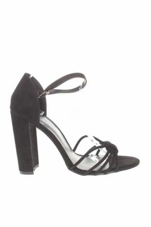Сандали New Look, Размер 41, Цвят Черен, Текстил, Цена 36,92лв.