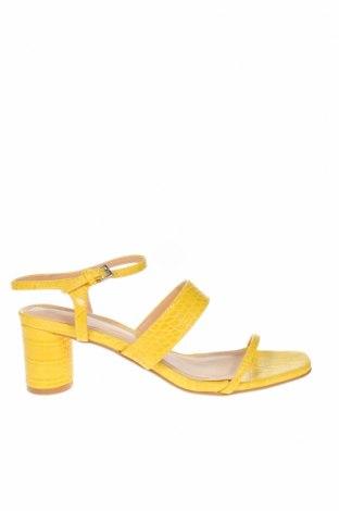 Sandály Topshop, Velikost 37, Barva Žlutá, Eko kůže, Cena  429,00Kč