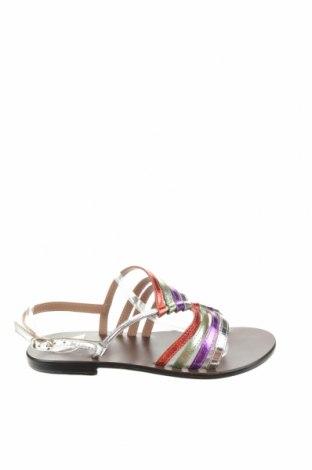 Сандали W.S Shoes, Размер 38, Цвят Многоцветен, Естествена кожа, Цена 68,32лв.