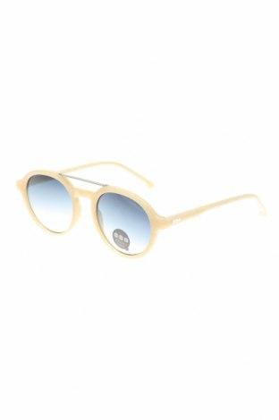 Слънчеви очила Komono, Цвят Екрю, Цена 21,80лв.