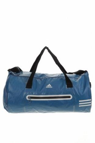 Спортен сак Adidas, Цвят Син, Текстил, Цена 58,80лв.