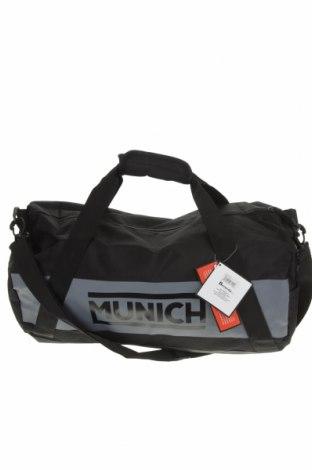 Спортен сак Munich, Цвят Черен, Текстил, Цена 46,20лв.