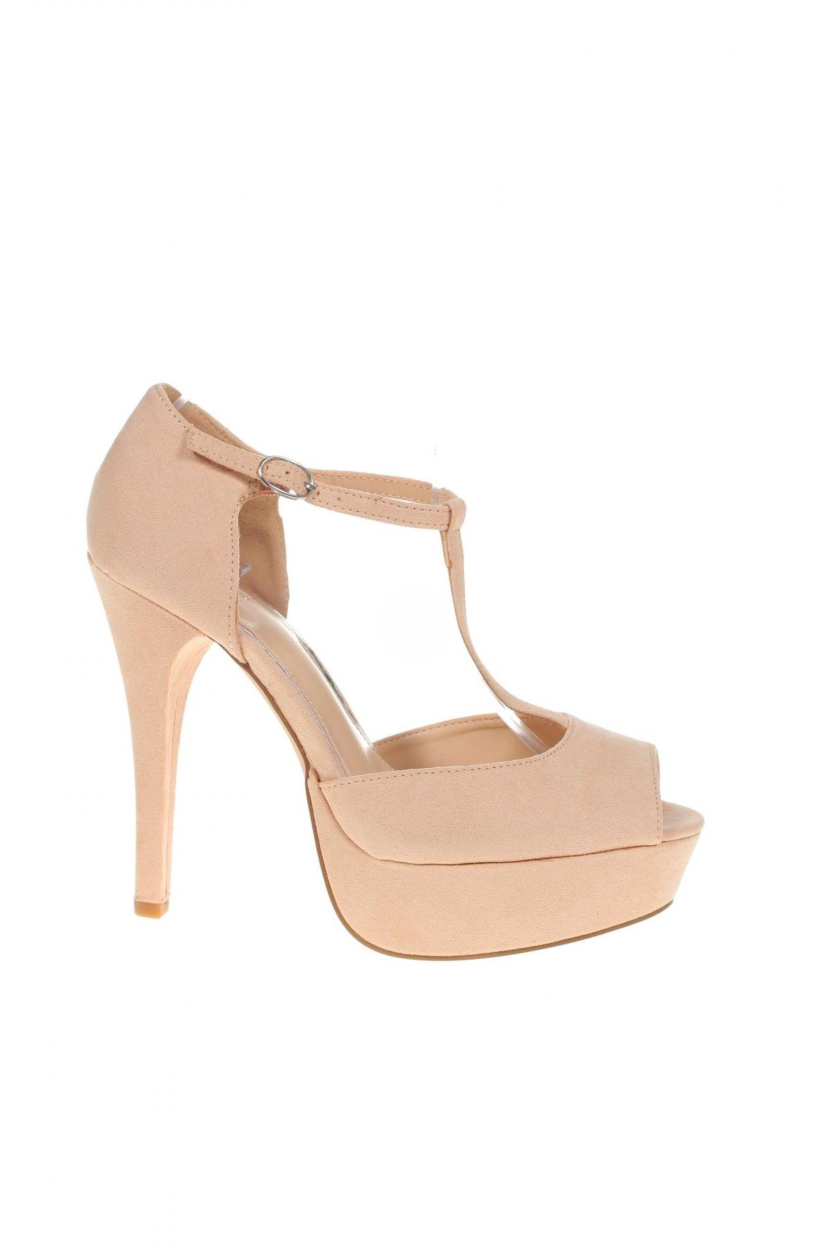 Дамски обувки Even&Odd, Размер 40, Цвят Бежов, Текстил, Цена 39,53лв.