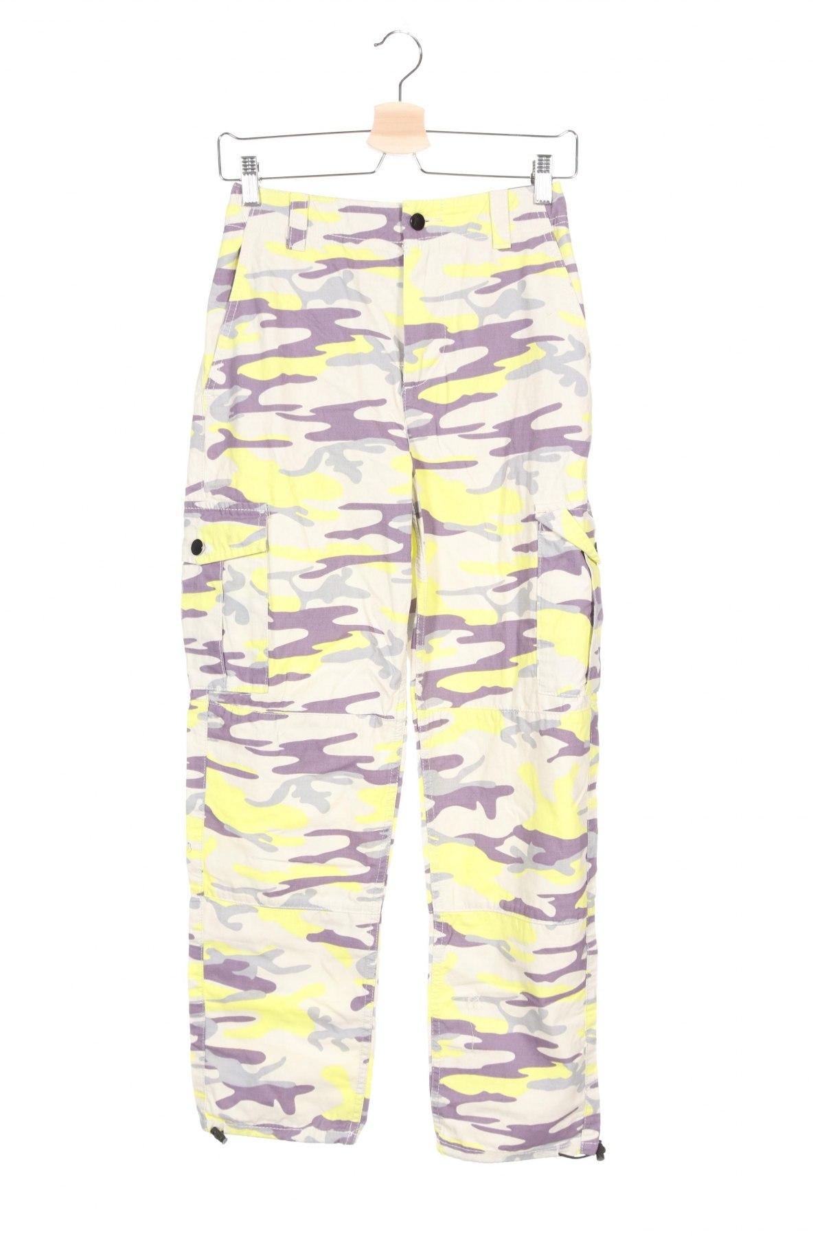 Дамски панталон Topshop, Размер S, Цвят Многоцветен, Памук, Цена 21,69лв.