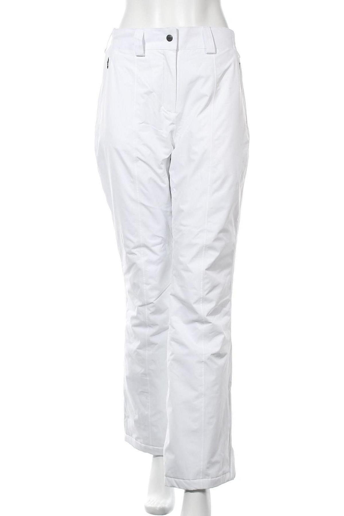 Дамски панталон за зимни спортове CMP, Размер L, Цвят Бял, Полиестер, Цена 55,60лв.