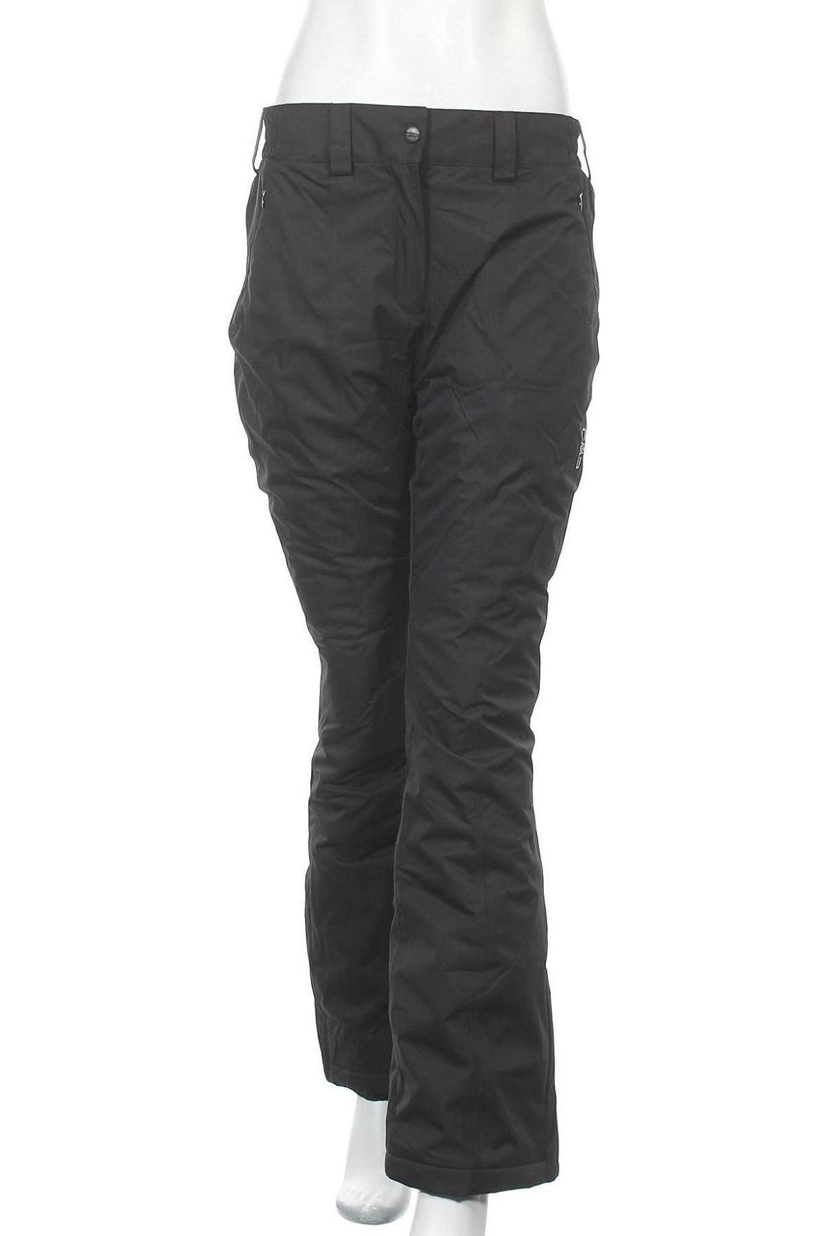 Дамски панталон за зимни спортове CMP, Размер M, Цвят Черен, Полиестер, Цена 59,77лв.