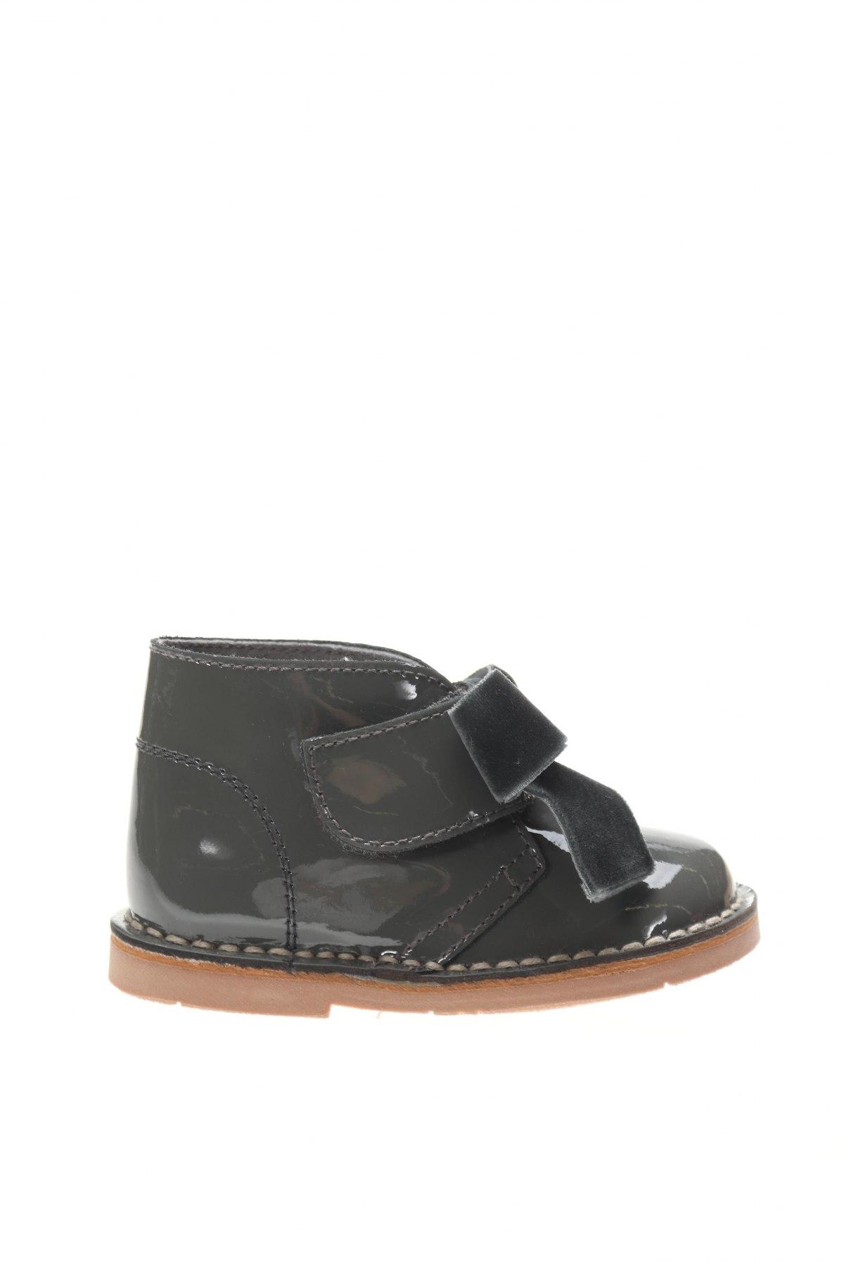 Детски обувки Lola Palacios, Размер 20, Цвят Сив, Естествена кожа, Цена 22,25лв.