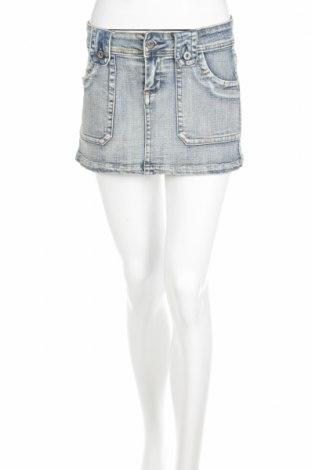 Φούστα Cotton On, Μέγεθος M, Χρώμα Μπλέ, 98% βαμβάκι, 2% ελαστάνη, Τιμή 3,67€
