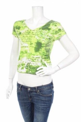 Γυναικεία μπλούζα Louise Fd, Μέγεθος M, Χρώμα Πράσινο, 95% βαμβάκι, 5% ελαστάνη, Τιμή 2,72€