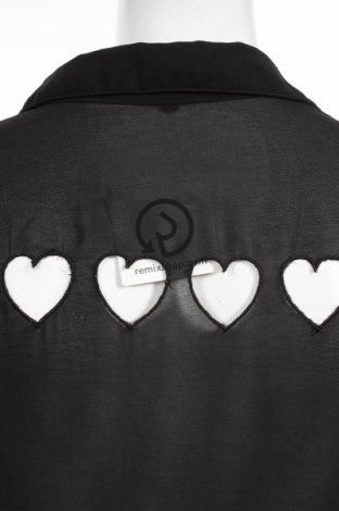 Γυναικείο πουκάμισο, Μέγεθος L, Χρώμα Μαύρο, Τιμή 15,46€