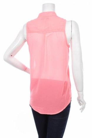 Γυναικείο πουκάμισο Bershka, Μέγεθος M, Χρώμα Ρόζ , 100% πολυεστέρας, Τιμή 12,37€