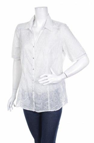 Γυναικείο πουκάμισο Bonita, Μέγεθος M, Χρώμα Γκρί, 60% βαμβάκι, 40% πολυεστέρας, Τιμή 3,56€