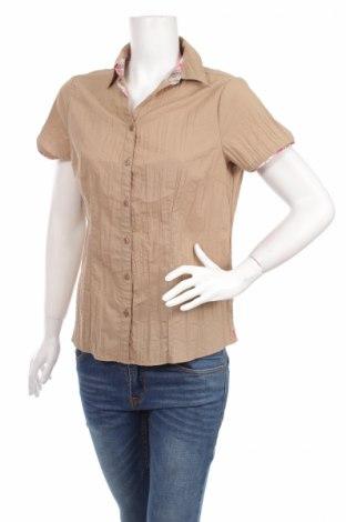 Дамска риза Canda, Размер L, Цвят Бежов, Полиестер, памук, Цена 22,80лв.